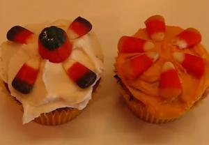 Halloween Special Vanilla Cupcake Icing