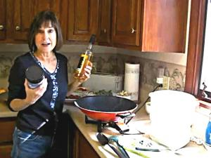 Debbie DeMaria Makes Stir Fry
