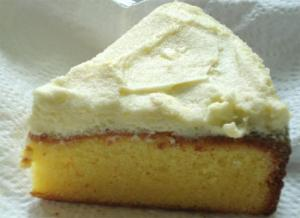 Glazed Lemon-Cream-Cheese Cake