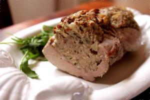 Stuffed Pork Cutlets