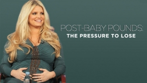 Jessica Simpson's post-pregnancy weight loss.