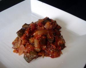 Microwave Cooked Ratatouille