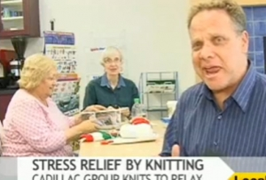 How Knititng Can Help As Stress Buster