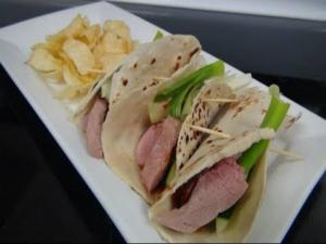 How to Make Smoked Duck Soft Tacos - with Plum Sauce and Mandarin Pancakes