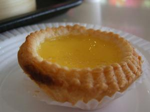 Teahouse Golden Custard Tartlets
