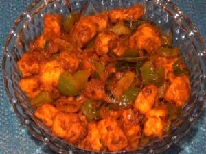 Chilli Paneer - Indo - Chinese Dish