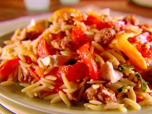 Sausage and Peppers and Tomatoes