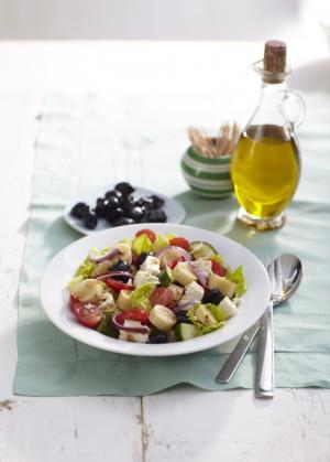 Tangy Feta Salad
