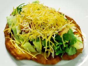 Fried Navajo Taco