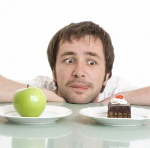 Think about food to avoid cravings.