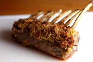Rack Of Lamb With Dijon Mustard Sauce