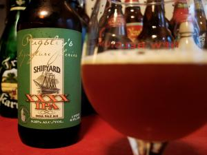 Shipyard XXXX IPA Beer Review