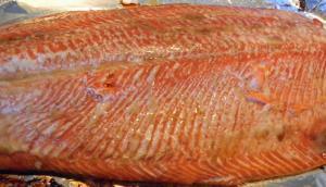 Baked Stuffed Salmon