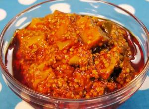 Homemade Spicy Raw Mango Pickle