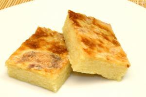 Homemade Cassava Cake