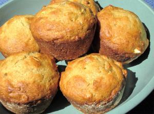 Pineapple Bran Whole Wheat Muffins
