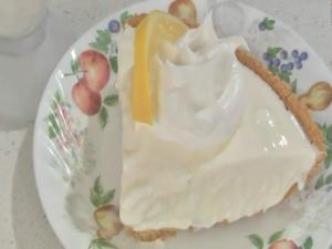 Frozen Lemonade Pie Dessert