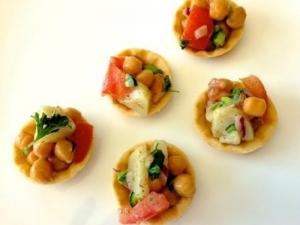Aloo Chana Chaat (Healthy Indian Snacks)