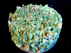 Jello Popcorn Cake