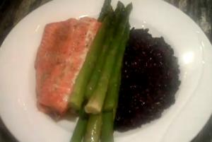Kyle Korver Style Meal : Part 2 - Salmon Meal