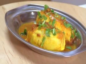 Stuffed Squash Curry