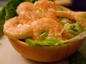 Shrimp Grapefruit Salad