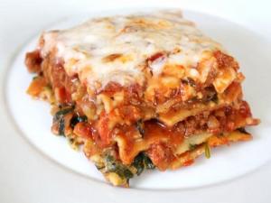 Tomato Pesto Lasagna