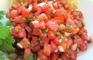 Marinated Tomato Topping