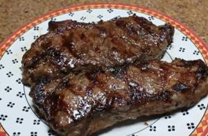 Roasted Garlic Steak