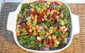 Organic Three Bean Summer Salad