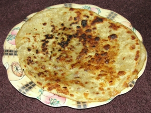 Lal Lobiya Paratha- An Ultimate Festive Breakfast Dish