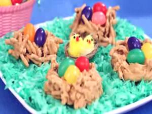 Easter Nests (Haystacks)- Happy Easter