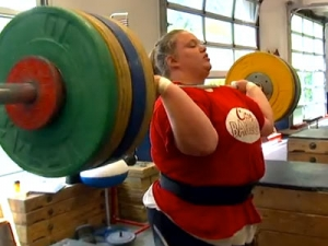 Embrace Food Says Olympics Weight Lifter Holley Mangold