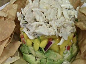 Crab Avocado Mango Stack - A Perfect Summertime Appetizer