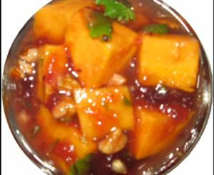 Cranberried Sweet Potato Relish