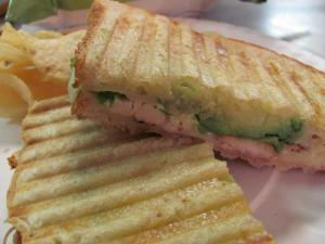 Chicken Avocado Cheese Sandwich