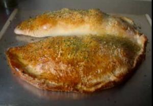 Chicken Calzones Part 3 - Baking