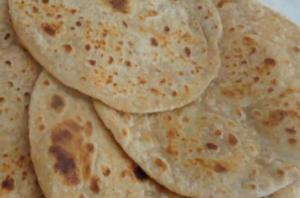 Whole Wheat Plain Paratha