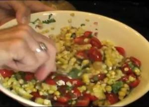Liz'S Famous Corn Bean And Tomato Salad