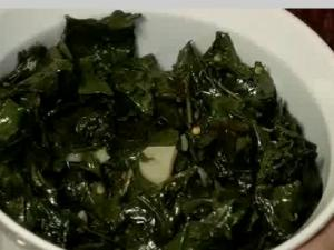 Sauted Garlic Kale