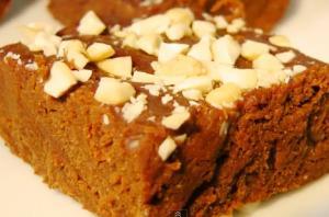 Quick Chocolate Burfi