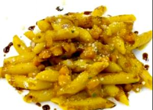 Penne with Pumpkin Sauce