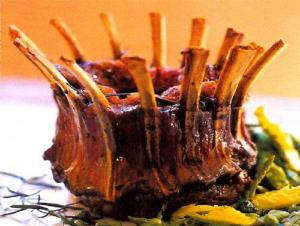 Baby Crown Roast Of Lamb with Coriander