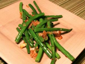Green Beans In  Oil