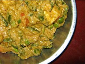 Green Peas Tofu/Paneer Masala