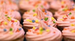 Fluffy Pink Frosting