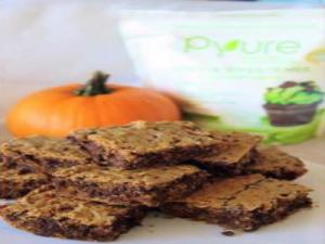 Healthy & Delicious Pumpkin Blondies