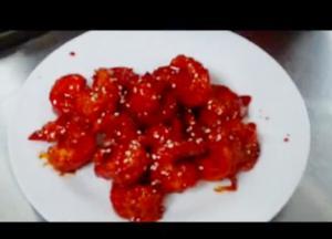 Fried Shrimp in Sesame Sauce