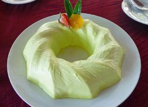 Chilled Lemon Souffle