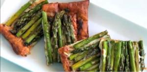 Back Pocket Asparagus Tart